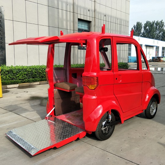 Electric Car Red